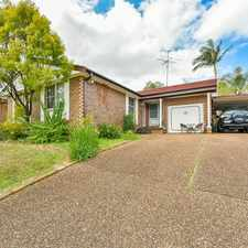 Rental info for FANTASTIC HOME, GREAT LOCATION in the Leumeah area