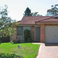 Rental info for Lovely Duplex in the Rooty Hill area
