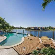 Rental info for NORTH FACING TO WATER in the Robina area
