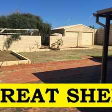 Rental info for ***BIG SHED*** in the Mahomets Flats area