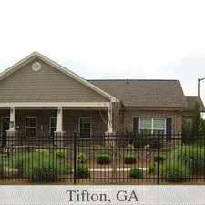Rental info for Beautiful Community Located In The Heart Of Tifton, Ga. $640/mo