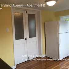 Rental info for 212 Maryland Avenue