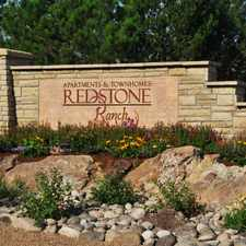 Rental info for Redstone Ranch