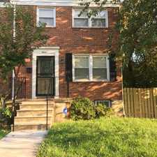 Rental info for Fabulous and spacious 3 bedroom 1.5 bath Town home completely renovated, brand new AC and heat, close to Sinclair Lane/ Moravia Road intersection and bus line in the Frankford area