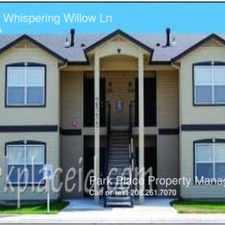 Rental info for 2124 E Whispering Willow Ln
