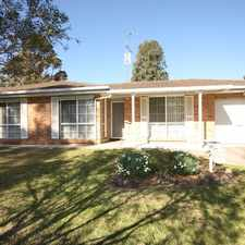 Rental info for 3 bedroom home in prime location in the Sydney area