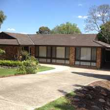 Rental info for APPLICATION PENDING Fully Renovated Family Home - 5 Bedroom + Study. Huge 1214m2 yard plus Sheds in the Sydney area
