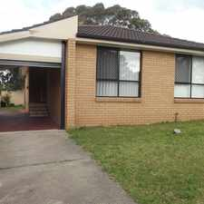 Rental info for 3 Bedroom home in great Location in the Warilla area