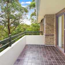 Rental info for Peafull location , moments walk to Chatswood CBD in the Sydney area