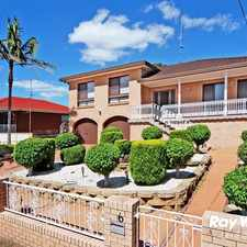 Rental info for Large Family Home in the Wollongong area
