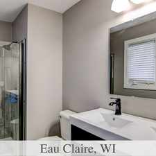 Rental info for Eau Claire is the Place to be! Come Home Today!