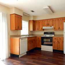Rental info for This end unit has just been renovated!