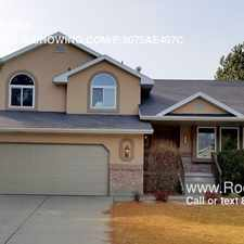 Rental info for 11976 S. Hidden Valley Rd. in the 84094 area