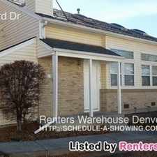 Rental info for 17142 E Ford Dr in the Tollgate Overlook area