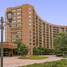 Rental info for Water Park Towers in the Washington D.C. area