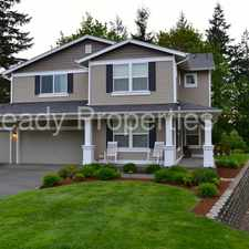 Rental info for Beautiful Snoqualmie Ridge Home, with Spectacular View