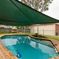 Rental info for HUGE POOL - POTENTIAL DUAL LIVING in the Woodridge area