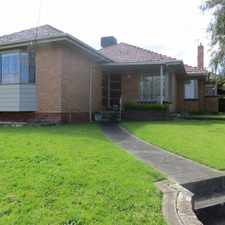 Rental info for IMMACULATE AND SPACIOUS HOME WITH 3 LIVING AREAS in the Melbourne area
