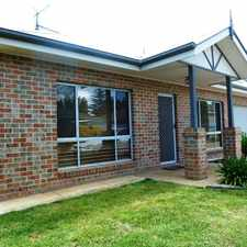 Rental info for Better than the average unit! in the Wagga Wagga area