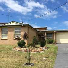 Rental info for Renovated Great Sized Family Home in the Koonawarra area