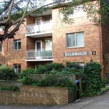 Rental info for 2 bedroom unit in good location