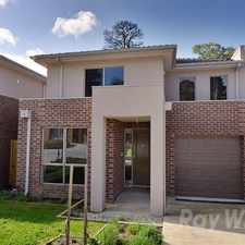 Rental info for NEAR NEW 3 BEDROOM EXECUTIVE TOWNHOUSE