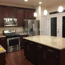 Rental info for BRAND NEW 3 story luxury townhome located in the Elizabeth neighborhood!