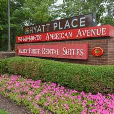 Rental info for Valley Forge Suites