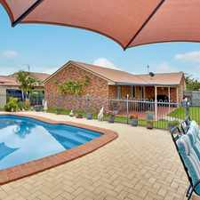 Rental info for Charming Light, & Airy Home On A Large Private Block With A Pool in the Currimundi area