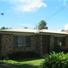 Rental info for 3 Bedroom Home with Large Shed out the back in the Toowoomba area