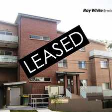 Rental info for LEASED BY RAY WHITE ERMINGTON | 9898 1822 in the Telopea area