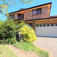 Rental info for 4 Bedroom Family Home in the Sydney area