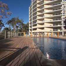 Rental info for EXECUTIVE APARTMENT LIVIING WITH WATER VIEWS in the Gosford area