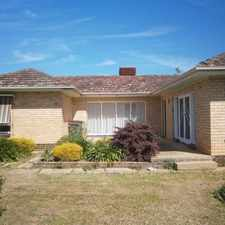 Rental info for Neatly presented 3 Bedroom Home in the Echuca area