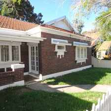 Rental info for Californian Bungalow full of Character!!! in the Lewisham area