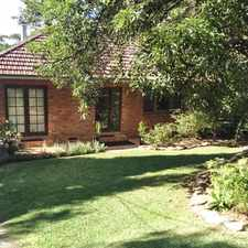 Rental info for **Application Approved** in the South Turramurra area