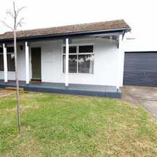 Rental info for Convenient Living, Convenient Location - Sorry, Strictly no pets. GARDNER INCLUDED!! in the South Geelong area