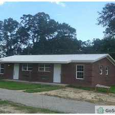 Rental info for Inside Laundry room, Great AC, Updated Kitchen, Full Shower Tub, Forever Hot Water, All Electric, New Paint, Ceiling Fans Everywhere, Heavy Insulation, Small yard, Front and Back Porches, Double Insulated Windows, Near Interstate 10, Walmart, Rouses in the Tillmans Corner area