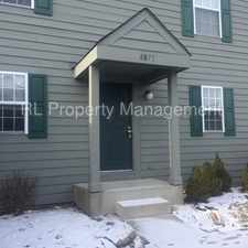 Rental info for Beautiful 2 Bedroom 1 Bath Condo in the Blendon Woods area