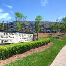 Rental info for Meridian at Harrison Pointe in the Raleigh area