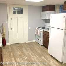 Rental info for 435 East 200 South #22