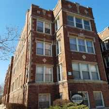 Rental info for 1218 W. Lunt Unit 2 in the Chicago area
