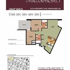 Rental info for 2217 N. Prospect Avenue in the Milwaukee area