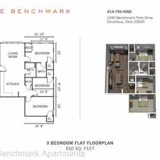 Rental info for 1240 Benchmark Park Drive in the Columbus area
