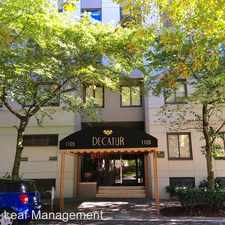 Rental info for 1105 Spring St. Unit 905 in the First Hill area