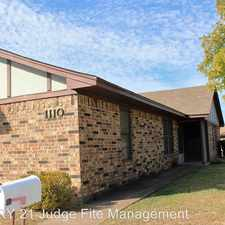 Rental info for 1110 Curtis Drive in the Weatherford area