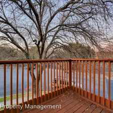 Rental info for 5704 B Cougar Drive in the Austin area