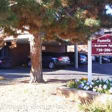 Rental info for 3425 South Marion Street in the Denver area