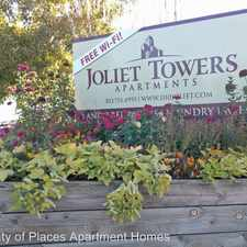 Rental info for Joliet Towers Apartments 1110 S. Joliet St. in the Village East area