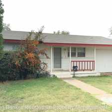 Rental info for 6114 Ave P in the Lubbock area